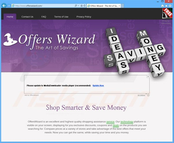 offers wizard adware