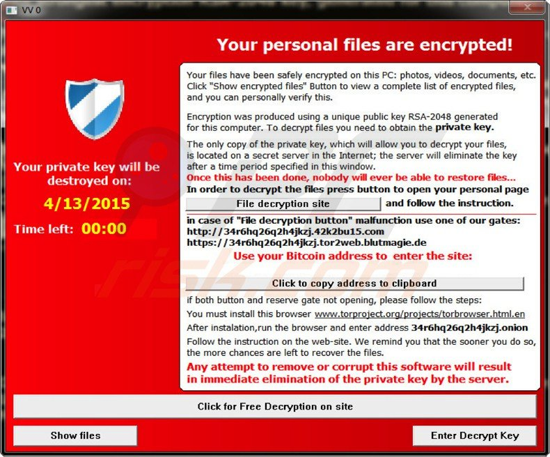 ransomware alpha crypt