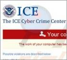 The ICE Cyber Crime Center Virus